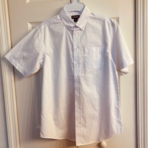 NWOT boys size 16 white button up